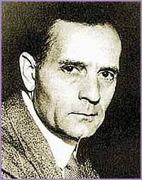 Edwin Hubble in 1920