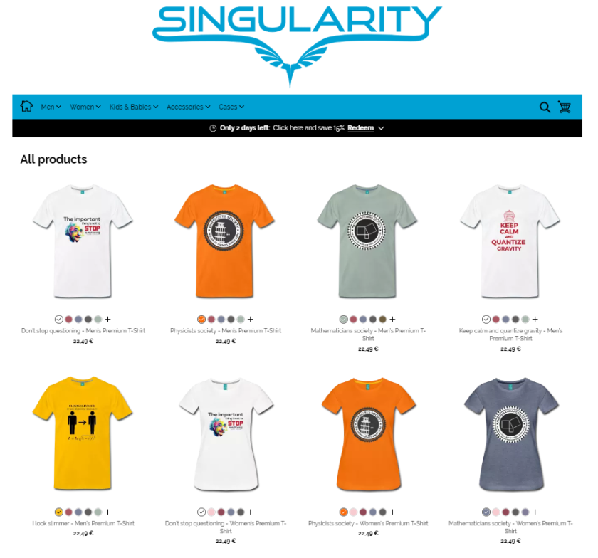 singularity-shop